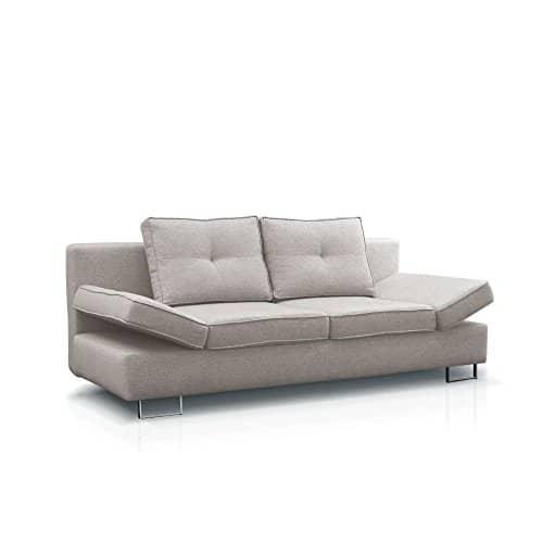 JUSTyou MARTINA Einzelsofa Sofa Schlafsofa Strukturstoff (LxHxB): 210x74-86x100 cm große Farbauswahl