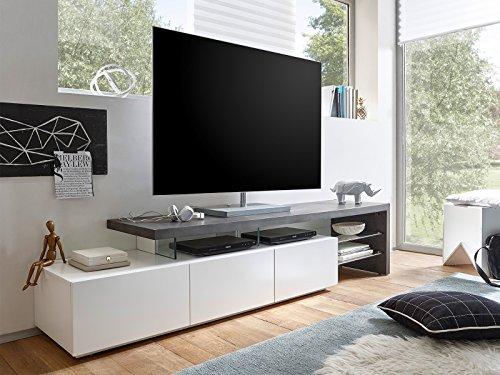 "TV-Lowboard Longboard Hifi Rack Unterschrank Fernsehschrank ""Aloa I"""