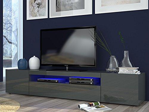 "TV-Lowboard Longboard Hifi Rack Unterschrank Tisch ""Daiquiri II"""