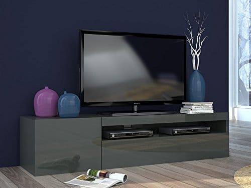 "TV-Lowboard Unterschrank Fernsehtisch Hifi Rack Tisch Longboard ""Daiquiri I"""
