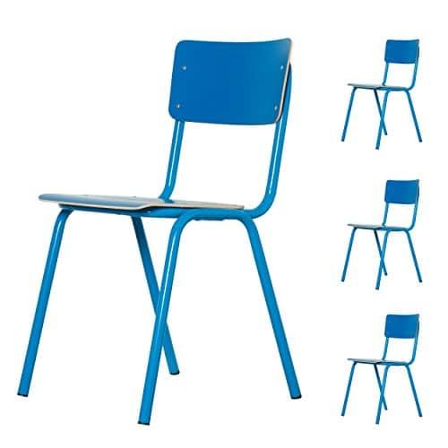Zuiver - Stuhl Back to School HPL Blau