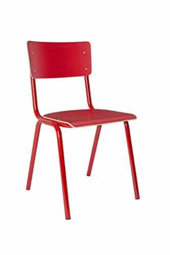 Zuiver - Stuhl Back to School HPL Rot