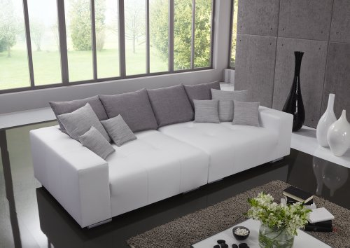 big leder sofa made in germany italienisches leder. Black Bedroom Furniture Sets. Home Design Ideas
