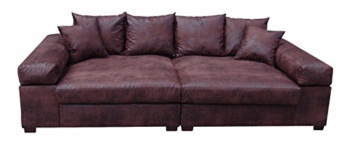 big sofa couch garnitur xxl megasofa riesensofa wohnlandschaft ultrasofa braun m bel24. Black Bedroom Furniture Sets. Home Design Ideas