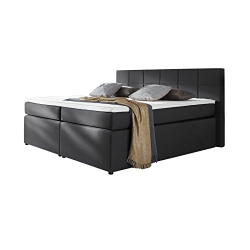 boxspringbett mit matratze und topper 0 m bel24. Black Bedroom Furniture Sets. Home Design Ideas