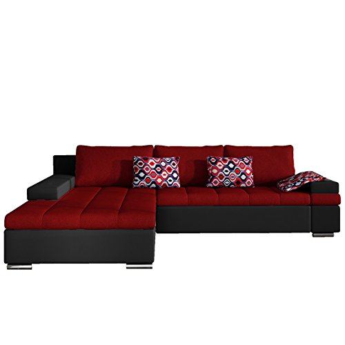 design ecksofa bangkok moderne eckcouch mit schlaffunktion und bettkasten ecksofa f r. Black Bedroom Furniture Sets. Home Design Ideas