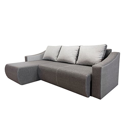 oscar design eckcouch mit schlaffunktion und bettkasten sofa couch. Black Bedroom Furniture Sets. Home Design Ideas