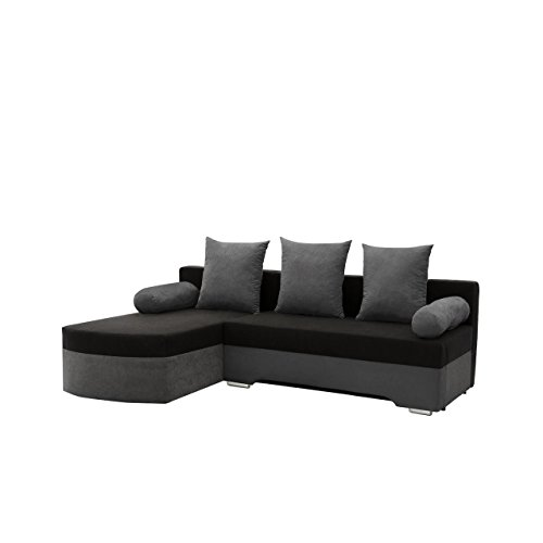 ecksofa smart sofa eckcouch couch mit schlaffunktion und bettkasten ottomane universal l. Black Bedroom Furniture Sets. Home Design Ideas