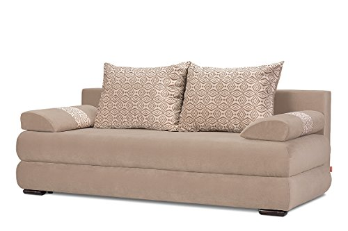 Konsimo lores schlafsofa sofa schlaffunktion for Couch schlaffunktion bettkasten
