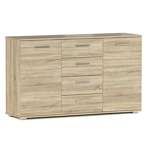 caro m bel kommode sideboard highboard chicago in sonoma. Black Bedroom Furniture Sets. Home Design Ideas