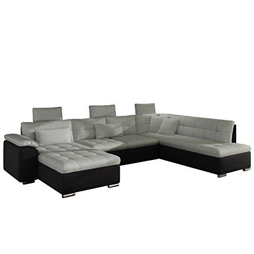 polsterecke presto mit schlaffunktion und kopfst tzen ecksofa mit bettfunktion elegante. Black Bedroom Furniture Sets. Home Design Ideas