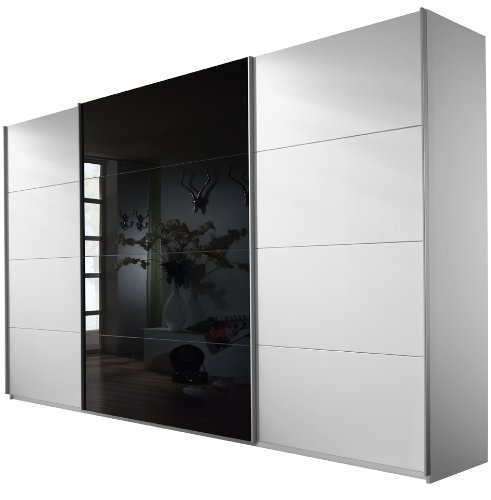 rauch v9333 w008 schwebet renschrank quadra 3 t rig 1 glast re b 316 h 210 t 62 cm. Black Bedroom Furniture Sets. Home Design Ideas
