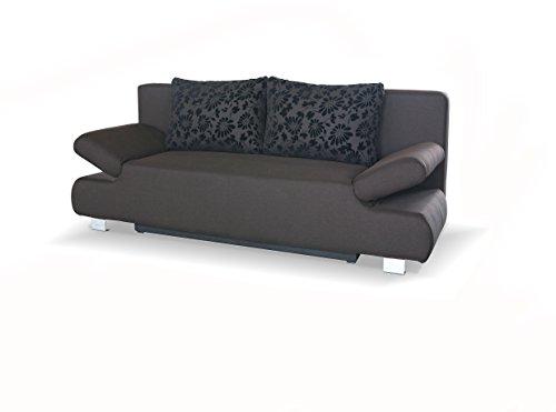 Sam schlafsofa reno in braun schlaf couch mit stoff for Schlafcouch schlafsofa