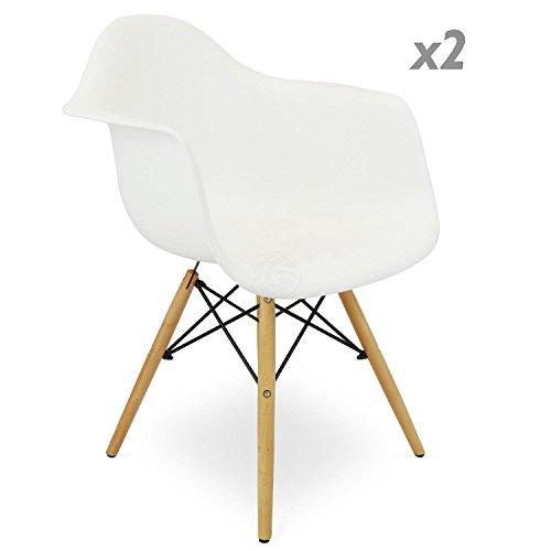 stuhl eiffelturm inspiriert sessel kunststoff wei 2. Black Bedroom Furniture Sets. Home Design Ideas