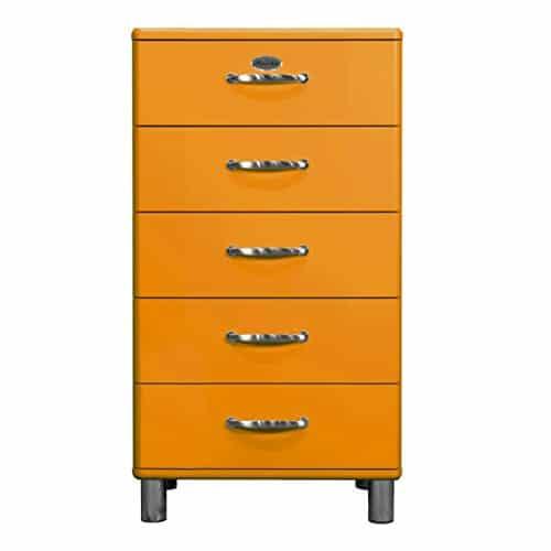 tenzo 5215 017 malibu designer kommode 111 x 60 x 41 cm mdf lackiert orange m bel24. Black Bedroom Furniture Sets. Home Design Ideas
