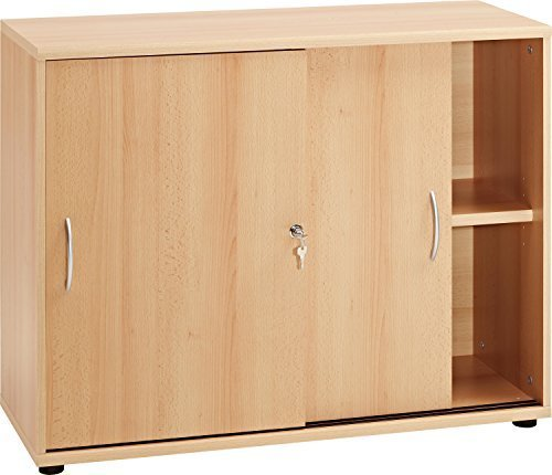 vcm sideboard ordner schrank akten b ro m bel regal mit schiebet ren aktano 470. Black Bedroom Furniture Sets. Home Design Ideas