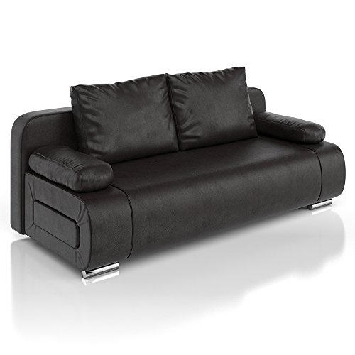 vicco schlafsofa sofa couch ulm federkern schlafcouch pu. Black Bedroom Furniture Sets. Home Design Ideas