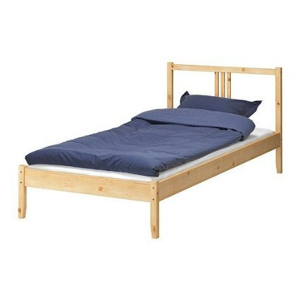 ikea bettgestell fjellse holz bett in 90x200 cm aus massiver unbehandelter kiefer m bel24. Black Bedroom Furniture Sets. Home Design Ideas