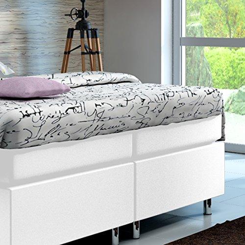boxspringbett 160x200 hotelbett doppelbett polsterbett. Black Bedroom Furniture Sets. Home Design Ideas