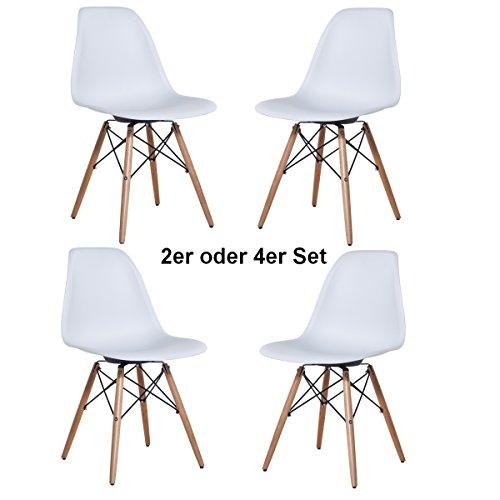 2x Delman Esszimmerstuhl Esszimmerstühle Wohnzimmerstühle Designerstühle Retro Design