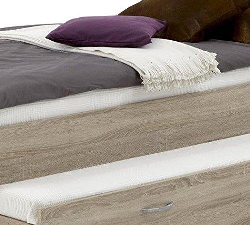 FMD Möbel 800-004 Bett Pedro 4 circa 94 x 50.5 x 203 cm, eiche