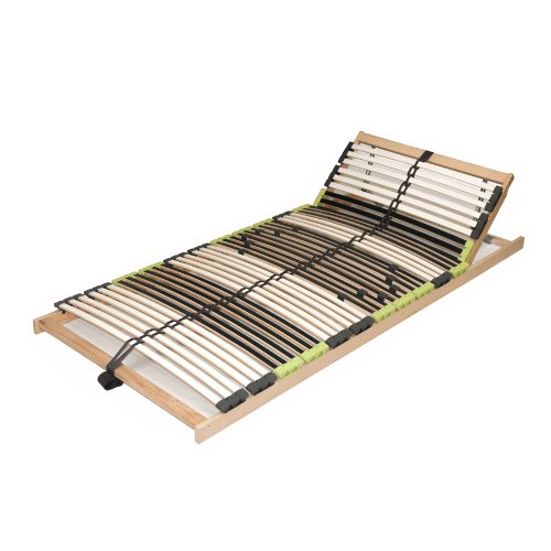 7 zonen lattenrahmen lattenrost 90x200 cm dami relax kopf. Black Bedroom Furniture Sets. Home Design Ideas