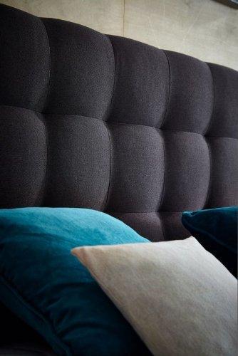 """""""ORIGINAL ROCKSTAR"""" von WELCON: Luxus Boxspringbett 180x200 Härtegrad H4 in dunkelgrau inkl. Topper, TTF Tonnentaschenfederkerne - Premiumklasse für 5 Sterne Hotels - günstig direkt vom Importeur"""