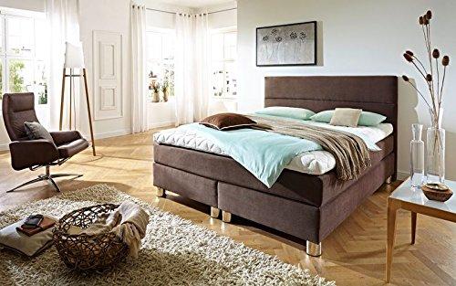 luxus boxspringbett rockstar 9cm topper welcon 160x200 64 farben erh ltlich h1 h2 h3 h4 h5. Black Bedroom Furniture Sets. Home Design Ideas