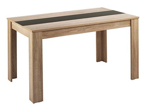 cavadore 80498 tisch nico moderner esstisch mit. Black Bedroom Furniture Sets. Home Design Ideas