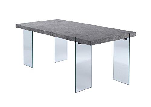 Cavadore 88686 Tisch Nova / Moderner Esstisch in Beton-Optik