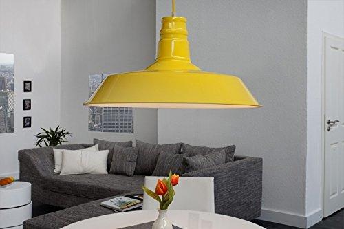 dunord design h ngelampe h ngeleuchte industrial gelb 45. Black Bedroom Furniture Sets. Home Design Ideas