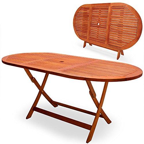 Deuba Gartentisch Esstisch Garten Tisch Gartenmöbel Holz - Modellauswahl