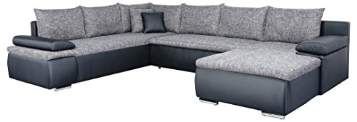 mein sofa cusoft11 xxl wohnlandschaft cali mit schlaffunktion und bettkasten circa 180 x 322 x. Black Bedroom Furniture Sets. Home Design Ideas