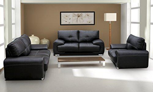 Polstergarnitur Sofa Set 3er & 2er Wohnlandschaft 3-Sitzer und 2-Sitzer mit Sessel Möbel Set - FLORIDA