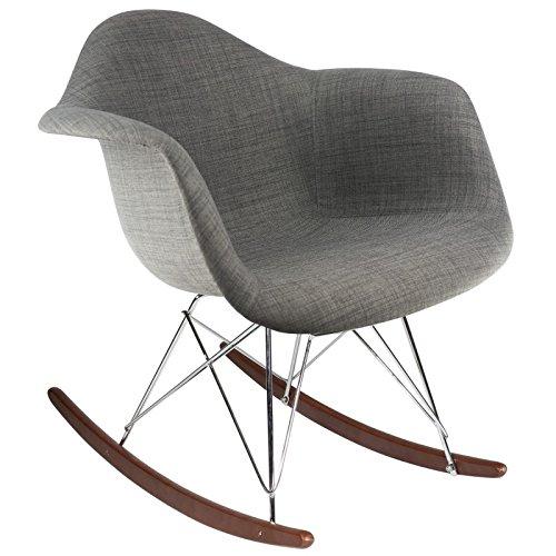 rar polsterstuhl dunkle grau walnuss m bel24. Black Bedroom Furniture Sets. Home Design Ideas