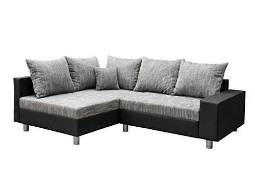 sofa couch wohnlandschaft garnitur aliya l form rana collection 227 x 85 x 168 cm m bel24. Black Bedroom Furniture Sets. Home Design Ideas