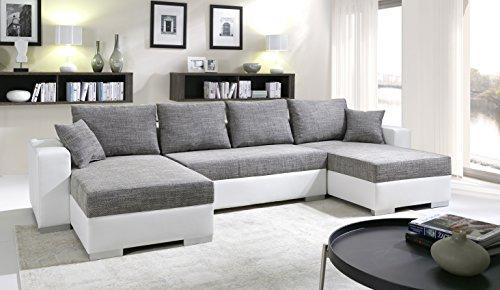 sofa couchgarnitur couch sofagarnitur tiger 4 u polstergarnitur polsterecke wohnlandschaft mit. Black Bedroom Furniture Sets. Home Design Ideas