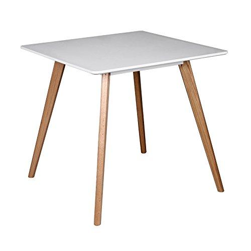 Wohnling esszimmertisch aus mdf holz esstisch mit for Tisch design 24