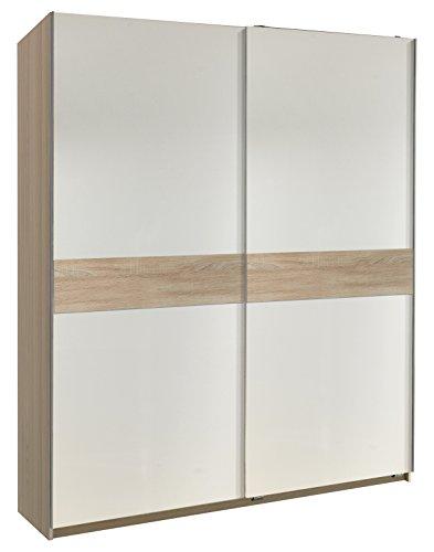 Wimex Kleiderschrank/ Schwebetürenschrank Power, (B/H/T) 167 x 190 x 60 cm, Weiß