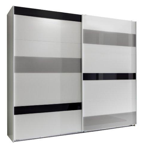 Wimex Kleiderschrank/ Schwebetürenschrank Mondrian, (B/H/T) 270 x 210 x 65 cm, Mehrfarbig