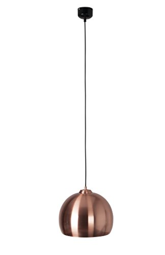 Zuiver 5300034 Pendant Lamp Big Glow, Kupfer