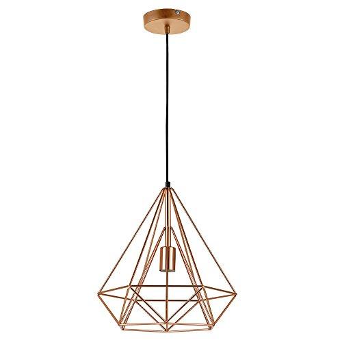 [lux.pro] LED Hängeleuchte Industria / Deckenleuchte (1 x E27 Sockel)(37cm x Ø 40cm) Hängeleuchte / Vintage / Retro Design / Industrial Design