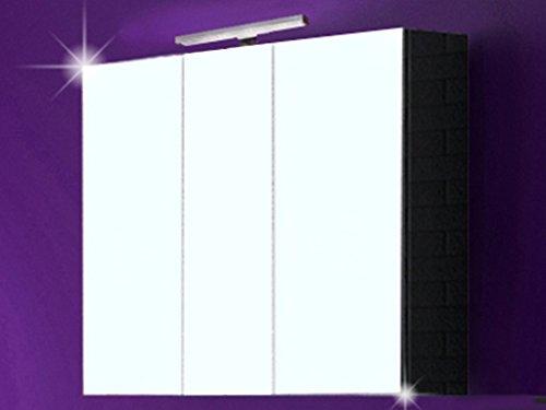 3d spiegelschrank milano badspiegel badschrank badezimmerm bel badm bel spiegel schrank mit. Black Bedroom Furniture Sets. Home Design Ideas