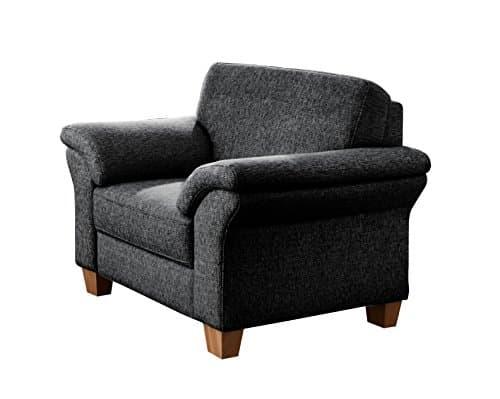 cavadore 5900984017344 sessel ecksofa schaumstoff grau 101 x 88 x 87 cm m bel24. Black Bedroom Furniture Sets. Home Design Ideas