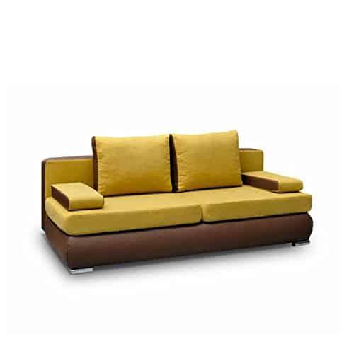 sofa luiza polstersofa couch couchgarnitur komfortsofa wohnzimmer schlafsofa modern m bel24. Black Bedroom Furniture Sets. Home Design Ideas