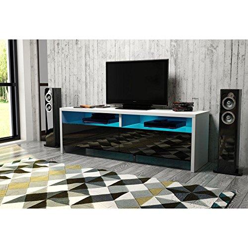 sonesta panama tv schrank lowboard sideboard mit led. Black Bedroom Furniture Sets. Home Design Ideas
