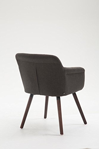 clp esszimmerstuhl debbie mit armlehne stoffbezug polsterstuhl aus eichenholz besucherstuhl. Black Bedroom Furniture Sets. Home Design Ideas