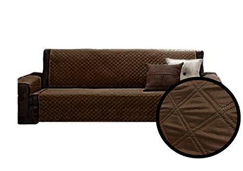 A-Express Braun 115cm x 177cm 2-Sitzer Sesselschutz Sofaschutz Haustier hussen Sessel-Überwürfe