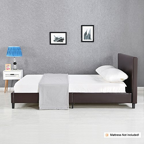 ikayaa polsterbett doppelbett bett ohne matratze f r 140 200 160 200 180 200 2 farbe optional. Black Bedroom Furniture Sets. Home Design Ideas