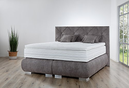 boxspringbett breckle arga palace premium qualit t boxspringbett mit 1000er taschenfederkern. Black Bedroom Furniture Sets. Home Design Ideas